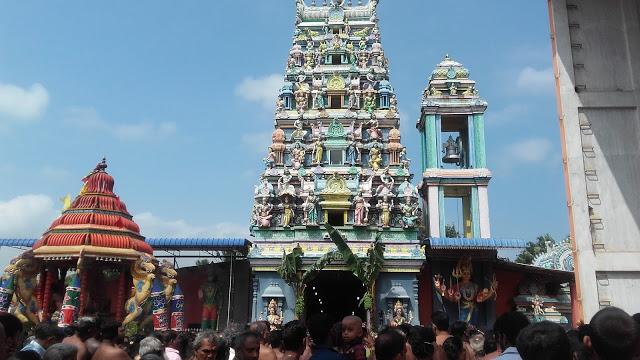 இரதமேறி அருள்பாலித்த ஏழாலை வசந்தநாகபூசணி:ஒரு சிறப்புப் பார்வை (VIDEO)