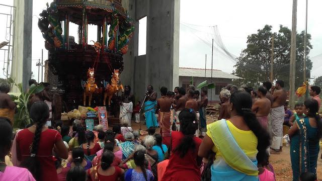 புன்னாலைக்கட்டுவனில் சிறப்பாக இடம்பெற்ற புதிய சித்திரத்தேர் வெள்ளோட்ட விழா VIDEO