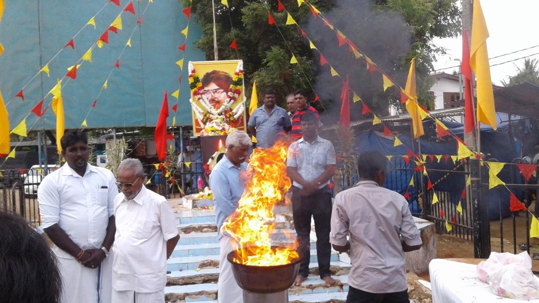 Image result for தியாகி திலீபன் நினைவு நாளில் தமிழ்த் தேசிய மக்கள் முன்னணி