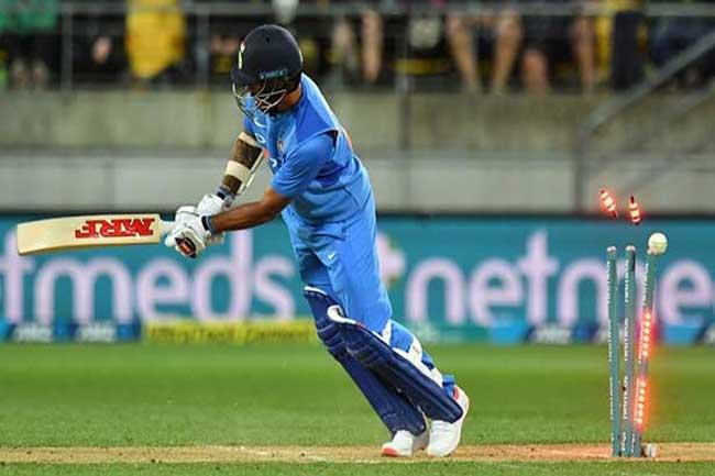 நியூசிலாந்துக்கு எதிரான முதல் டி20 போட்டியில் இந்தியா படுதோல்வி