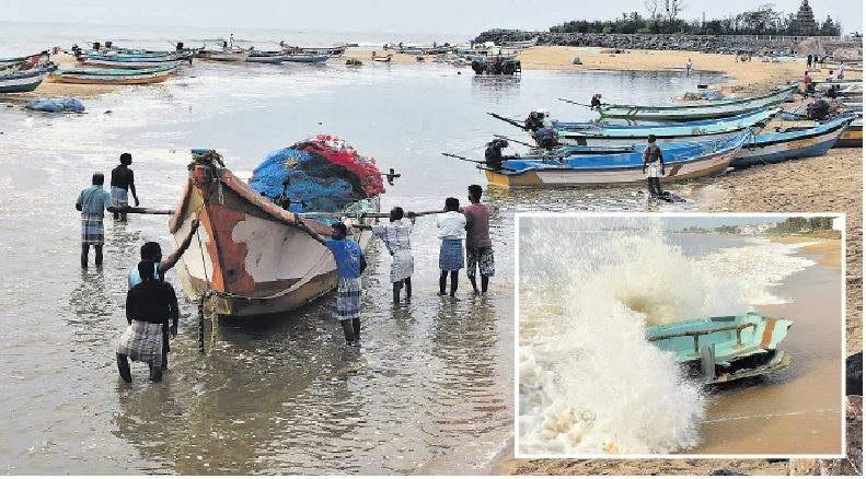 யாழ்ப்பாணம் உள்ளிட்ட 7 மாவட்ட மீனவர்களுக்கு எச்சரிக்கை..! கடல் மிக கொந்தளிப்பாக இருக்கும். வளிமண்டலவியல் திணைக்களம்..