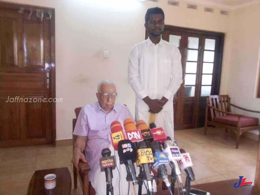 திருகோணமலை 'சைக்கிள்' வேட்பாளர் 'வீட்டு'க்குள் பாய்ந்தார்!