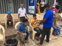 டெலிகாம் பிராந்திய அலுவலகத்தினால் மாபெரும் பால் பாக்கட் அன்னதான நிகழ்வு