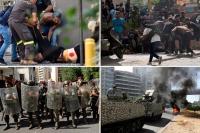 ஆர்ப்பாட்டக்காரர்கள் மீது துப்பாக்கிச் சூடு!! -லெபனானில் 6 பேர் பலி, 32 பேர் காயம்-