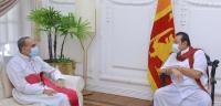 கண்டி மாவட்டத்தின் புதிய ஆயர் வெலன்ஸ் மெண்டிஸ் ஆண்டகை கௌரவ பிரதமருடன் சந்திப்பு